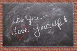 Quote Be You - Love yourself!